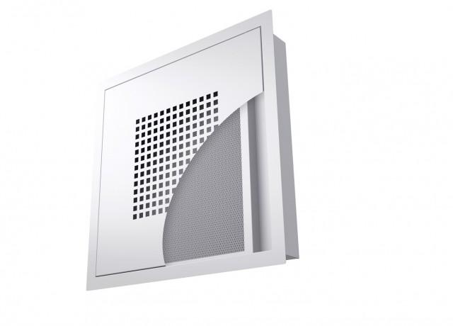 CRO kuchynský difúzor odsávaného vzduchu s tukovým filtrom